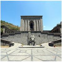 معماری بنای موزه ماتناداران ایروان ارمنستان