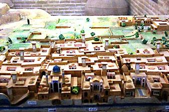 ماکت قنات موزه آب یزد