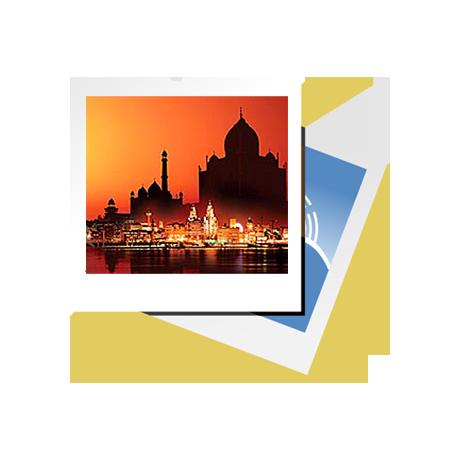 آیکون جاهای دیدنی هند و گشتها