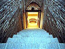 موزه آب یزد راه پله