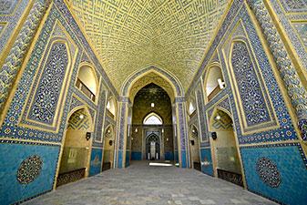 مسجد جامع یزد و احیا دوباره