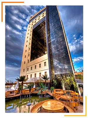 تور مشهد هتل درویشی
