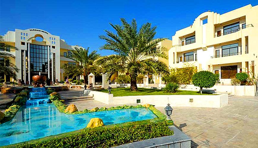 تور کیش هتل پارسیان