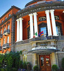 تور ارمنستان هوایی هتل رویال تولیپ
