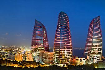 برجهای شعله باکو تور باکو