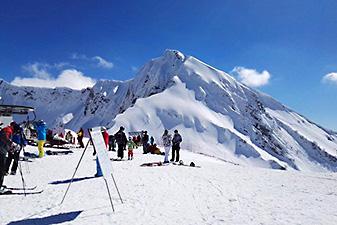 krasnaya polyana mountain sochi