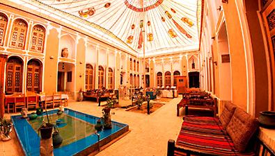 تور یزد هتل فهادان