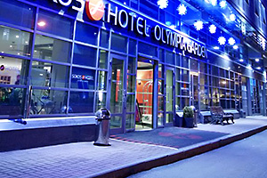 تور روسیه هتل sokos olympia