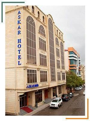 تور باکو هتل آسکار