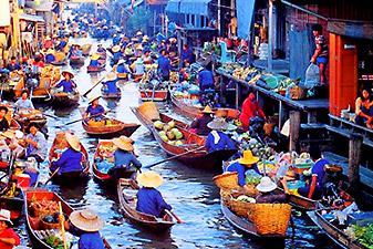 floating market bangkok قیمت تور تایلند