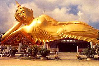 reclining buddha تور تایلند