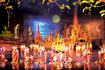 siam niramit show بانکوک