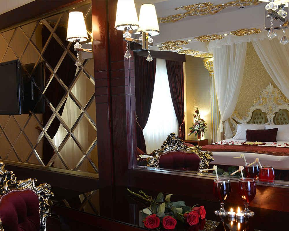 سرویس اتاق هتل الماس