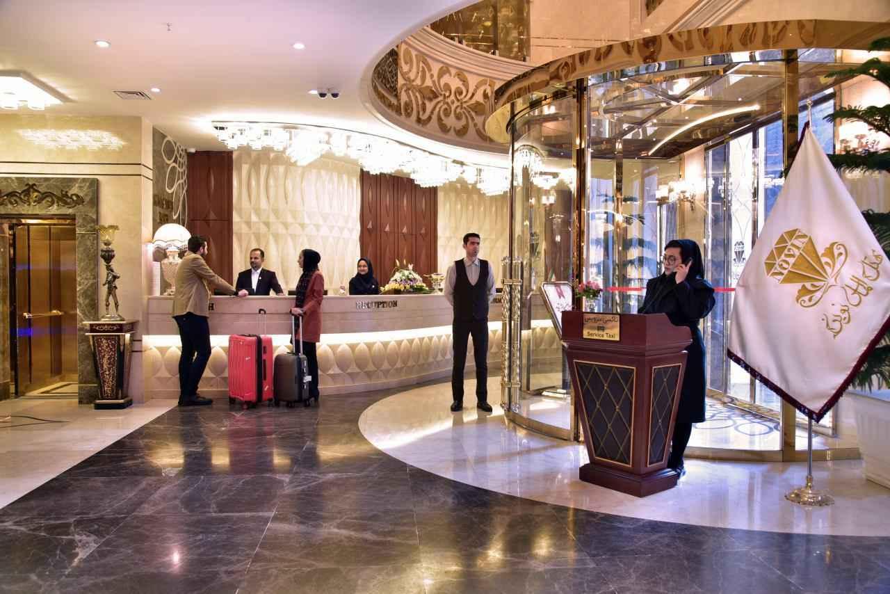 رزروشن هتل الماس نوین