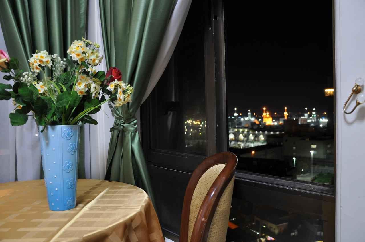 مشاهده حرم امامرضا (ع) از هتل هتل رضویه