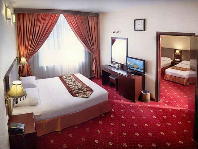 اتاق های هتل سهند