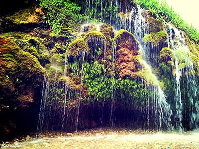 آبشار و آسیاب خرابه تبریز