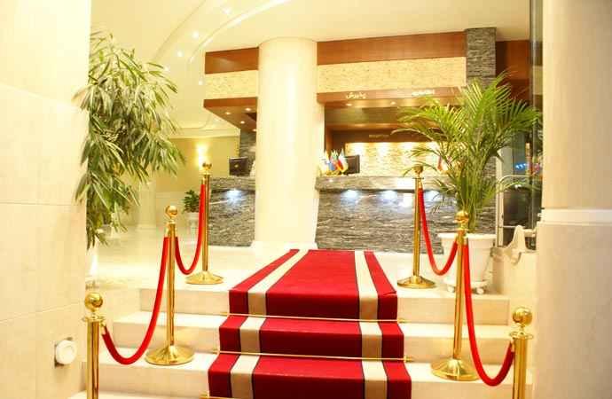 رزرواسیون هتل عماد