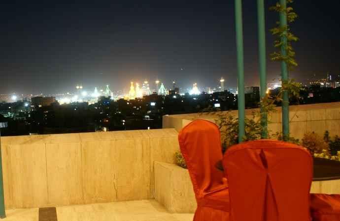 منظره حرم از هتل عماد