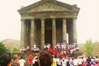 معبد گارنی تور ارمنستان