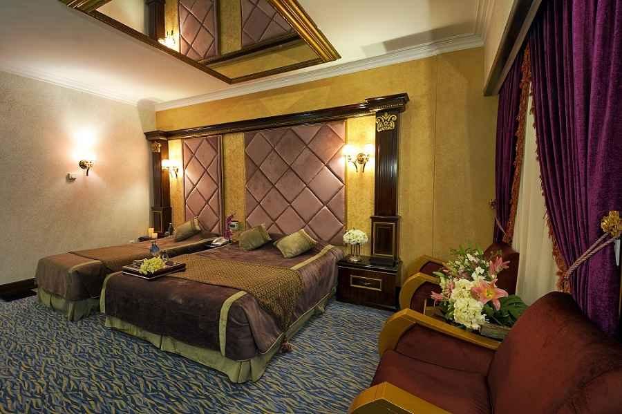اتاق های هتل قصر الماس