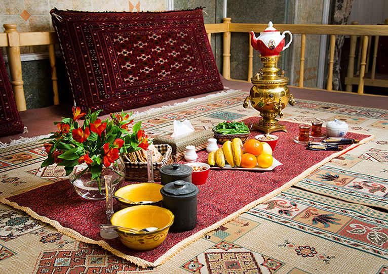غذاهای سنتی هتل قصر الماس
