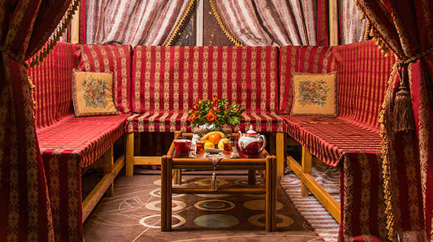 رستوران سنتی هتل قصر الماس