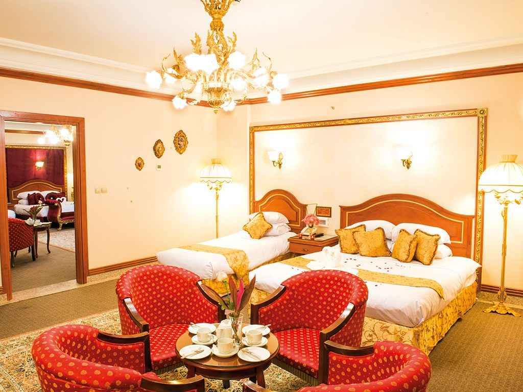 اتاق های هتل قصر طلایی