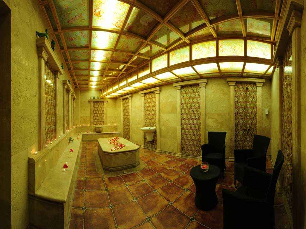 حمام سنتی هتل قصر طلایی