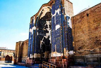 مسجد کبود تبریز تور تبریز