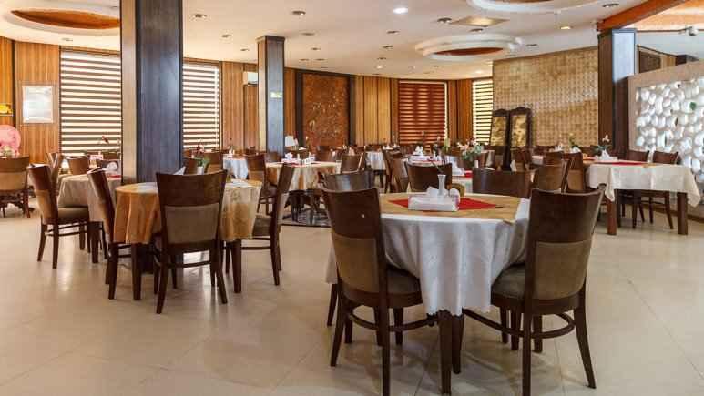 رستوران هتل آرامش کیش