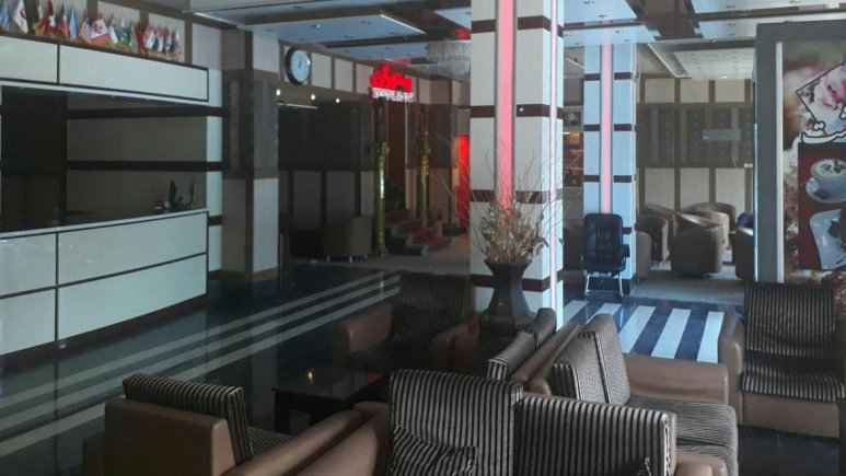 لابی هتل بهشت قشم
