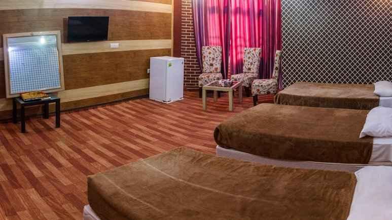 اقامت در هتل نخل زرین قشم