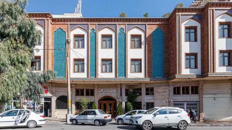 رزرواسیون هتل ارگ شیراز