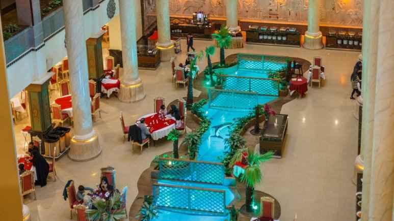 لابی هتل داریوش کیش