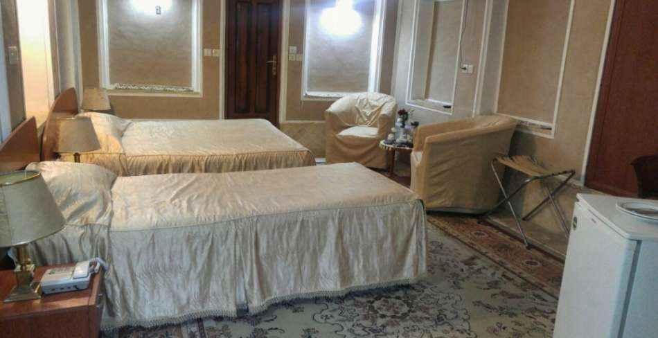 اقامت در هتل کاروانسرای مشیر یزد