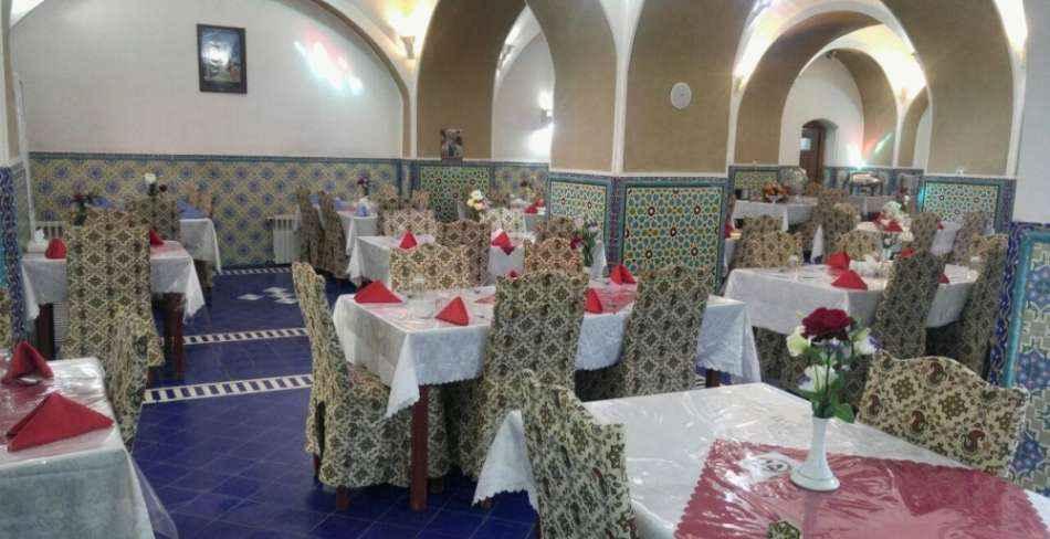 تور یزد هتل کاروانسرای مشیر یزد