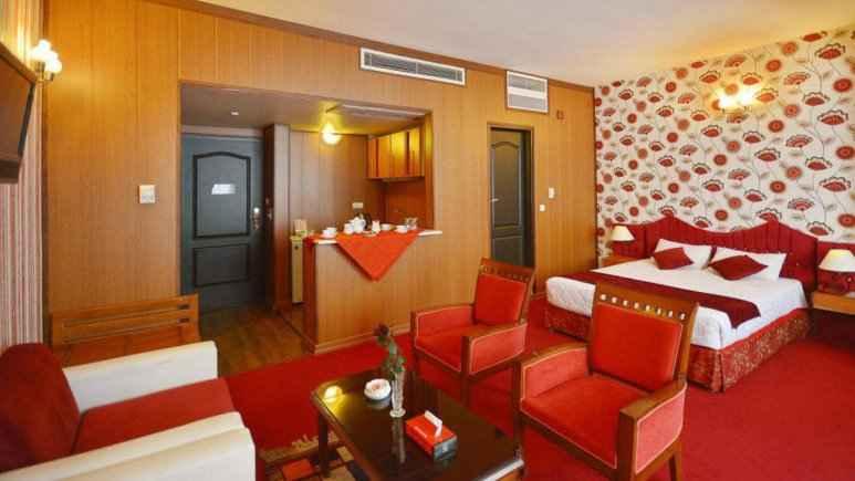 اقامت در هتل پارک سعدی شیراز