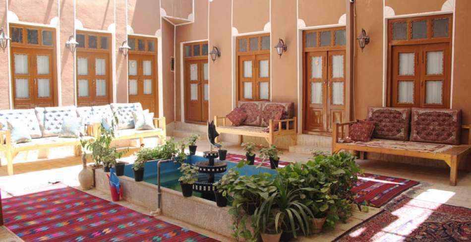 اقامت در هتل ترمه یزد