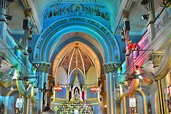 کلیسای مریم مقدس باندرا در تور هند