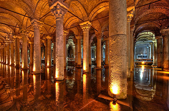 آب انبار باسیلیکا استانبول