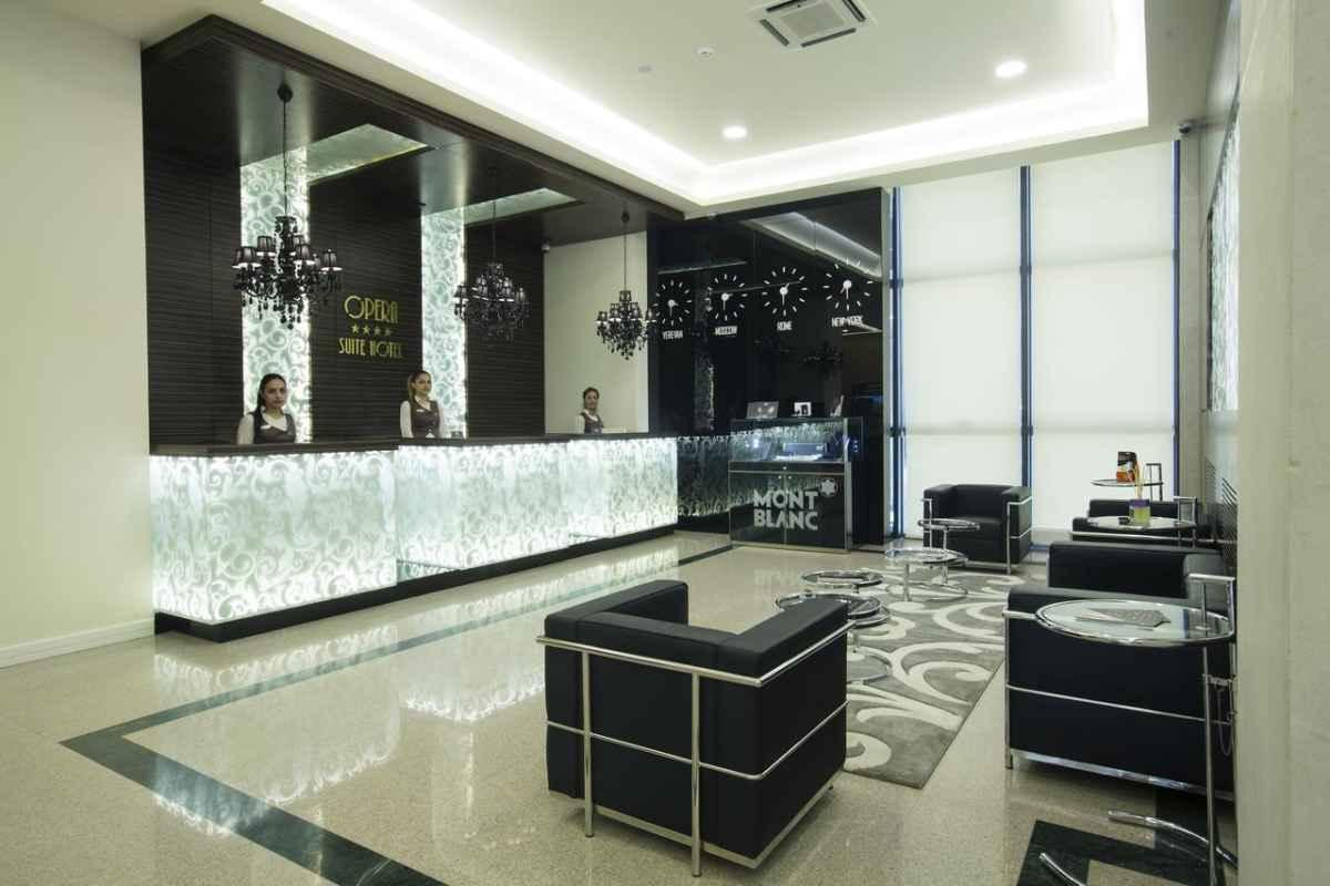 رزرواسیون هتل اپرا سوئیت ایروان