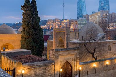 قصر شیروانشاه باکو