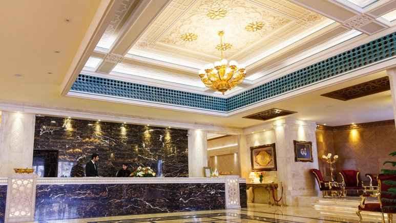 رزرواسیون هتل زندیه شیراز