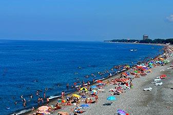 ساحل آناکلیا گرجستان