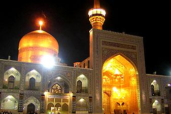 قیمت تور مشهد از تهران