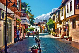 شهر قدیمی آنتالیا