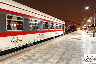 قطار 4 تخته تهران بندرعباس