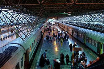 قطار 6 تخته تهران بندرعباس