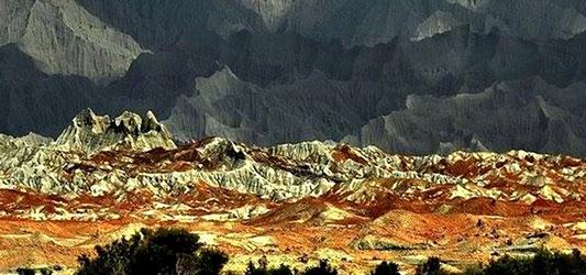 کوههای مینیاتوری چابهار